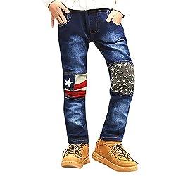 Ni os Pantalones Recto De...
