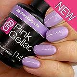Pink gellac Precious Lila Gel Nagellack