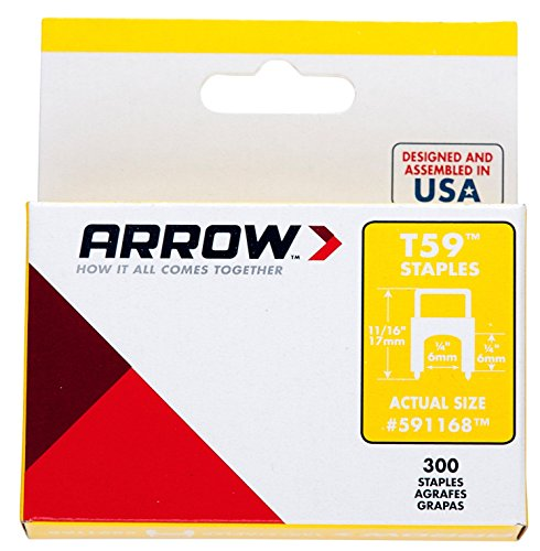 arrow-insulated-staples-300-6x6mm-clear