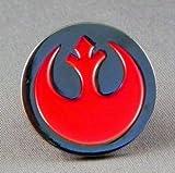 Metal esmalte de selección de fútbol de broche con forma de Star Wars Rebel Alliance Insignia