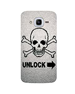 GripIt Unlock Danger Printed Case for Samsung Galaxy J2 Pro
