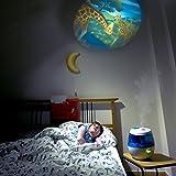 Wick WUL575E SweetDreams 2 in 1 - Ultraschall Luftbefeuchter mit Lichtprojektion - 2