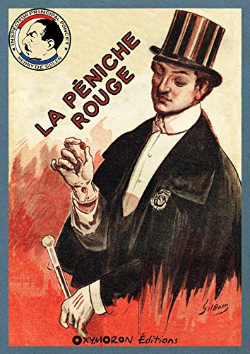 Couverture du livre La péniche rouge (Inspecteur Principal Poncet t. 1)