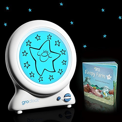 The GRO Company Clock Sleep Trainer with Story Book - Updated Version New