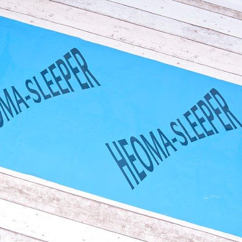 Schlaflosigkeit 100 Tabletten (HEOMA SLEEPER Bettunterlage für guten und gesunden Schlaf, Schutz vor Schlafstörungen, Problemen beim Durchschlafen und Einschlafschwierigkeiten durch Elektrosmog u. Erdstrahlung - Reisematte 62,5cm Breite)
