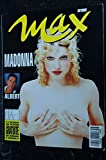 MAX 051 N° 51 COVER MADONNA 7 PAGES ALBERT TABATHA CASH MICKEY ROURKE 1993