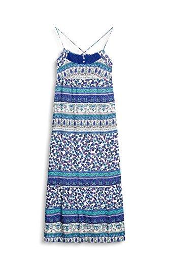 Esprit 047ee1e018, Robe Femme Multicolore (Bright Blue)