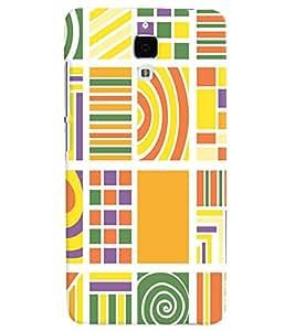 GADGET LOOKS PRINTED BACK COVER FOR Xiaomi Mi 4 MULTICOLOR