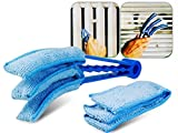 #3: Kawachi Blinds Microfiber Duster Slats Cleaner Window Triple Dust Cleaning Brush