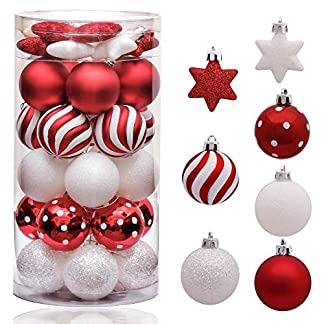 Victor's Workshop Pink and Purple Christmas Baubles Ornaments Set