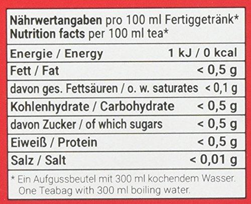 FLORAGOLD Pyramidenbeutel schwarzer Tee Bio Earl Grey, 1er Pack (1 x 38 g)
