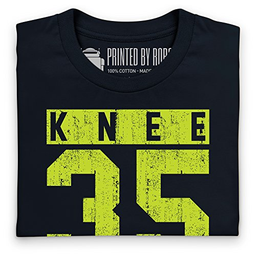 Knee Dragger 35 T-Shirt, Herren Schwarz