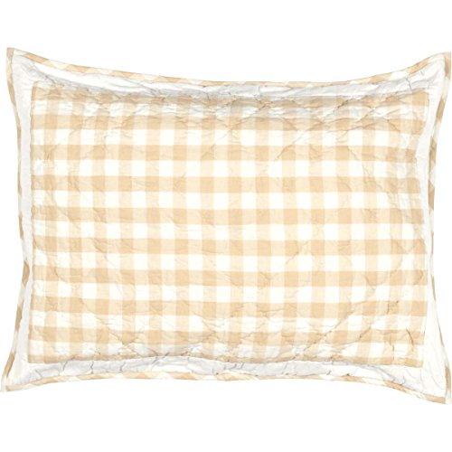 Check-standard Pillow Sham (VHC Brands Annie Buffalo Check Sham Shabby Chic Standard hautfarben)
