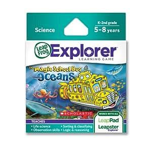 Leapfrog Leapster/LeapPad Explorer Learning Game: The Magic School Bus Oceans