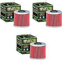 3x Filtro de aceite Kymco K-XCT 125 i 13-14 Hiflo HF566