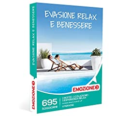 Idea Regalo - EMOZIONE3 - Cofanetto Regalo - EVASIONE TRA RELAX E BENESSERE - 695 rilassanti soggiorni in invitanti dimore e hotel 3 o 4 stelle