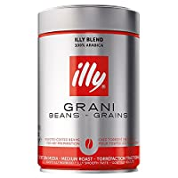 illy Blend 100% Arabica Medium Roast Coffee Beans, 250 g