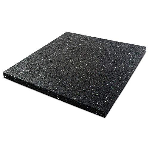 ETM® Anti-Vibrationsmatte für Waschmaschine/Wäschetrockner | Stärke 2cm | dämpft Vibrationen–verhindert Verrutschen | Schallisolierung