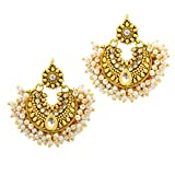 Ameeyo Gold Plated Drops & Danglers Eari...