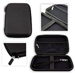 caseroxx GPS-Case per la Garmin Camper 760 LMT-D tasca per i dispositivi di navigazione in nero.
