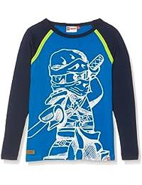 Lego Wear Boy Ninjago Teo 106-T-Shirt L/S, Hauts à Manches Longues Garçon