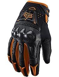 5581f10e7ddb2c Fox 2015 Motocross Handschuhe - Bomber Schwarz/Orange: Größe Handschuhe: XXL  (12