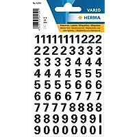 Herma 4159chiffres Étiquettes Noir