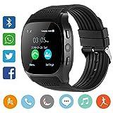 YLJYJ Smart Watch Montre Connectée, Carte SIM TF, Montre-Bracelet avec Appareil...