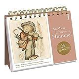 Postkarten-Aufsteller »Da mir Gott ein fröhliches Herz gegeben hat, ...«: Aufsteller mit 24 Postkarten zum Heraustrennen (perforiert) - Sr. Maria Innocentia Hummel