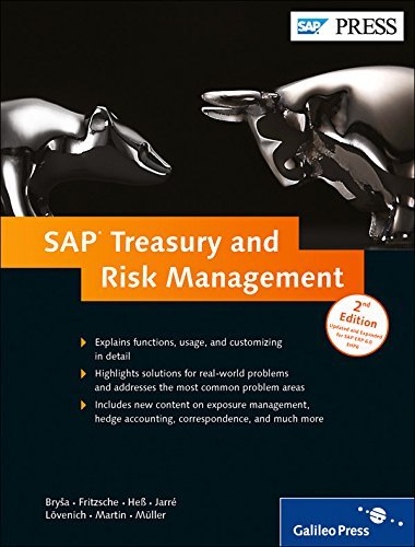 SAP Treasury and Risk Management (SAP PRESS: englisch) (Sap Rechnungslegung)