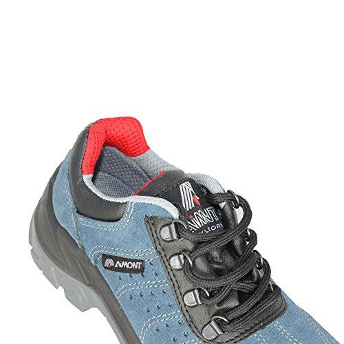 Aimont, Chaussures De Sécurité Pour Homme Bleu (bleu)