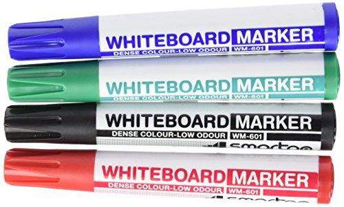 smartgo-asi500wm601-pack-de-4-rotuladores-punta-redonda-2-mm-multicolor