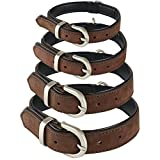 Me & My Pets Quality Soft Leather Dog Collar - Choice of Size