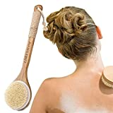 Spazzola Bagno Schiena, Spazzola Corpo Scrub,Spazzola Corpo Spazzole da bagno per spazzolatura a sec