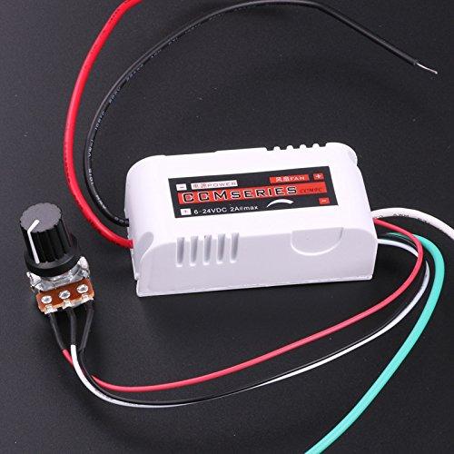 lyws DC Motor Speed Schalter Controller PWM 12V 2A Controller für Brushless Fan