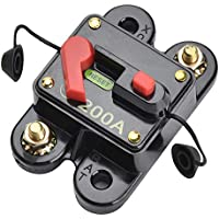 12V-24V tomzz Audio 5800-080 HQ Sicherungsautomat 200A wasserfest