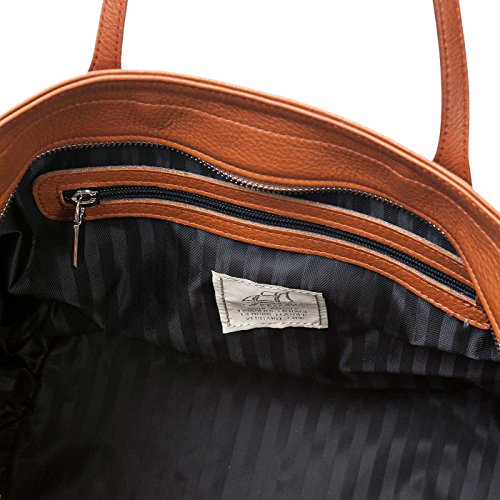 Terrida Marco Polo borsa in pelle - LE941 (Giallo) Verde