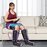 Kawachi Air Pressure Therapy Foot Massager for Pain Relief of Foot, Calf, Leg and Thigh