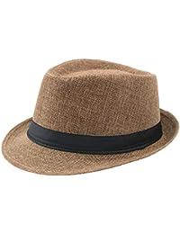 9dfeef83b Amazon.co.uk: Brown - Panama Hats / Hats & Caps: Clothing