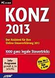 Konz Steuer 2013 - Der Assistent für Ihre Online-Steuererklärung 2012