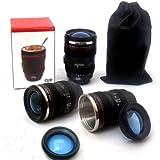 MFEIR® Taza de la lente de la cámara taza de café Copas de la lente en forma de la lente de la cámara para el café, la leche, el agua