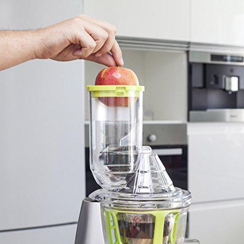 Slow Juicer for Fruit and vegetables, Cold Press Juice ...