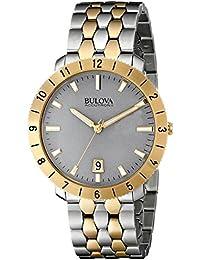 Bulova Analog Grey Dial Men's Watch - 98B216