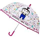 alles-meine.de GmbH Regenschirm -  Minions - Ich Einfach unverbesserlich / Agnes & Einhorn  - Ki..