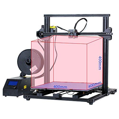 Comgrow Creality 3D Drucker CR-10 S4 Prusa i3 mit Dual Z Stab Schrauben 400x400x400mm - 2