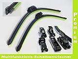 2 x Scheibenwischer (Set) mit Adapter Premium