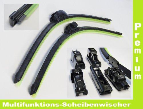 2 x Scheibenwischer Citroen C4 (Typ L) 2004-2010 mit Adapter Premium