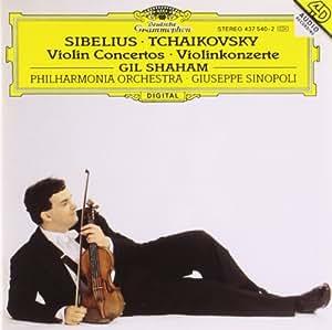SIBELIUS & TCHAIKOVSKY/VLN CNCS/SHA'M GH