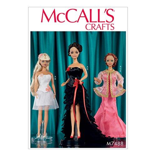 Mccall modelli vestiti per bambole