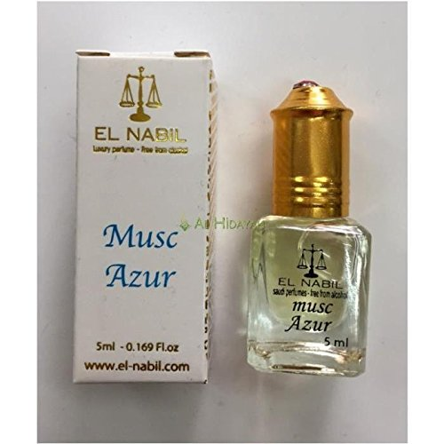 EL NABIL - MUSC AZUR 5ml - LOT DE 6